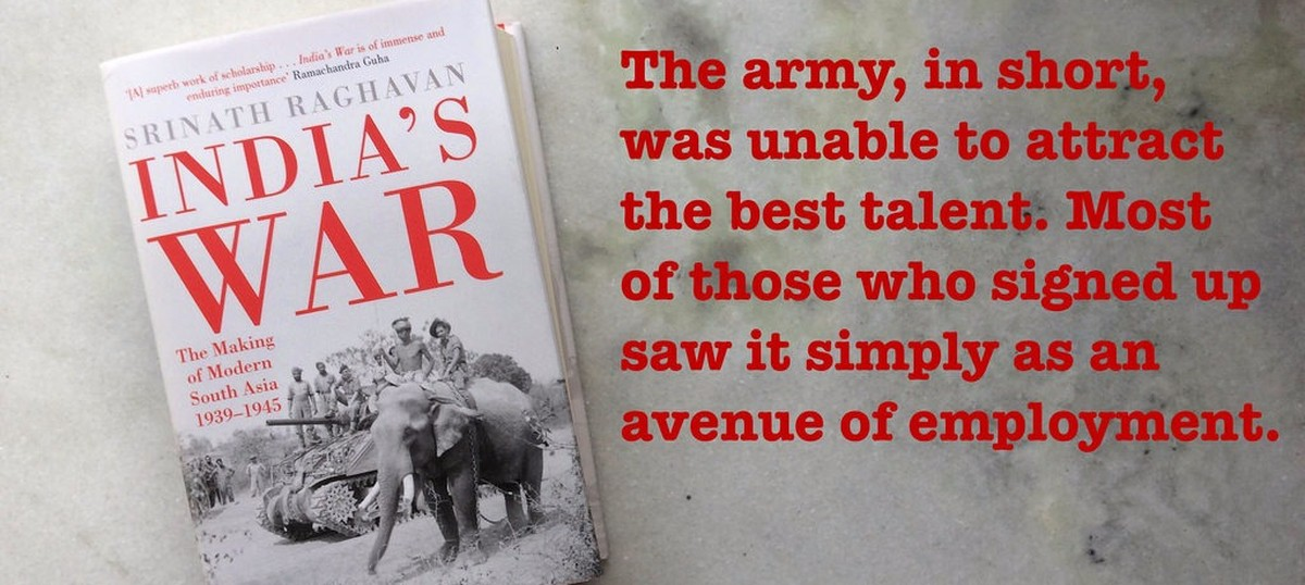 No officers, no equipment, no money – or, how the Indian army had to be built