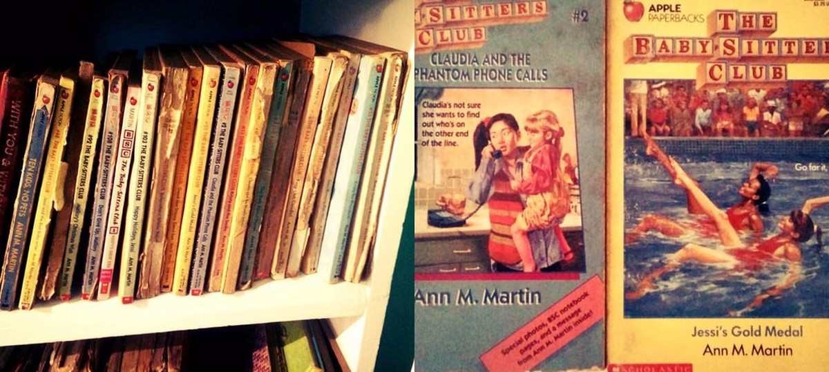 Books you grew up with in the 1990s: 'The Baby-sitters Club' series