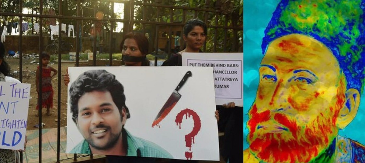 To Rohith Vemula and Mirza Ghalib: Being stardust
