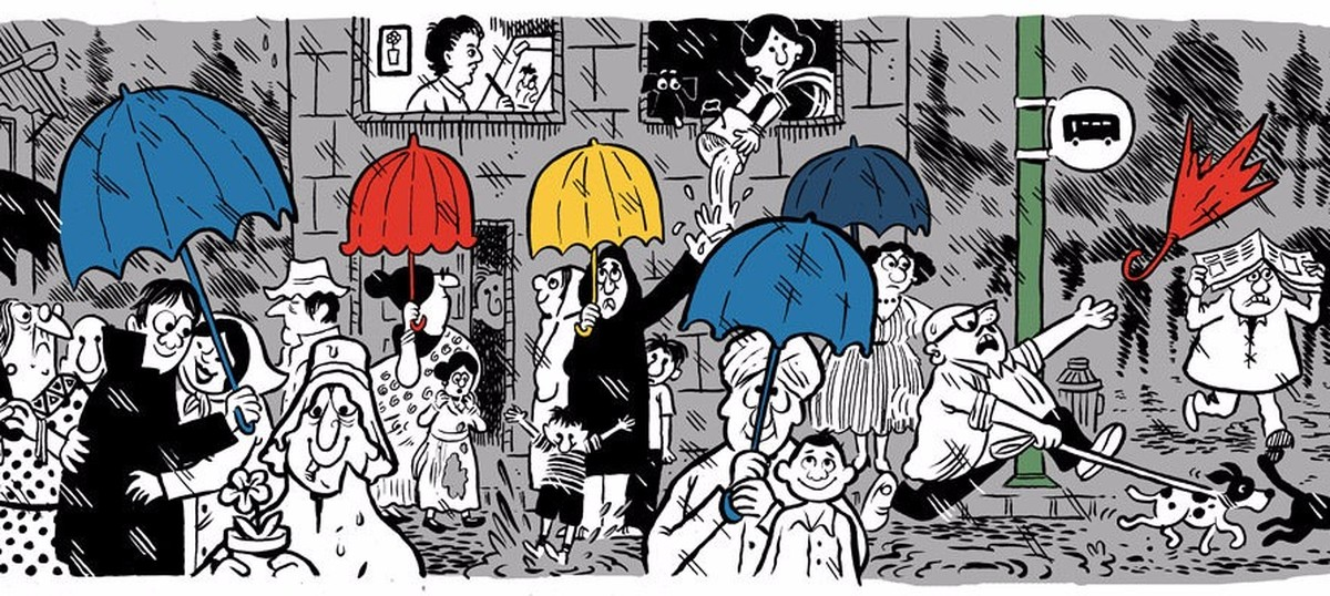 Meet the cartoonist who created the Mario Miranda Google Doodle for his 90th birth anniversary