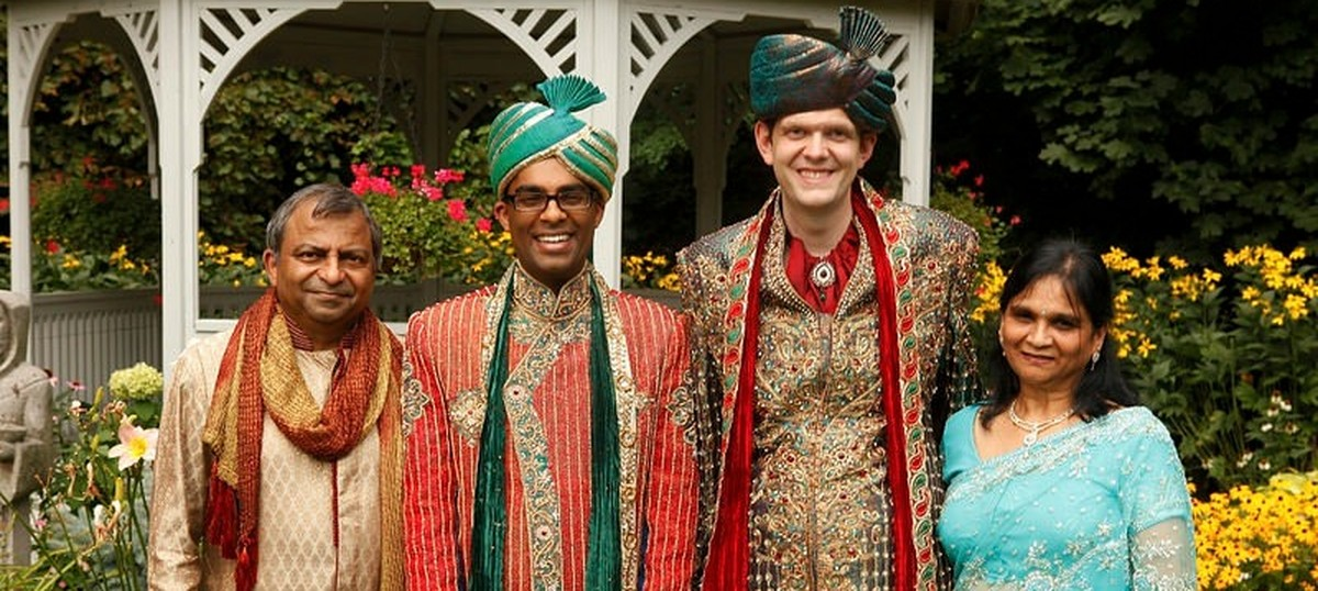 How an Agarwal family in Canada planned a big, fat Hindu wedding for their son and his groom
