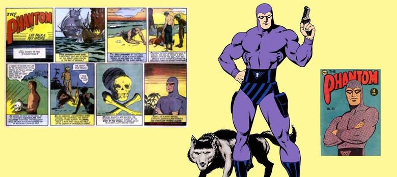 How the legend of the Phantom, the original comic-book superhero, was created