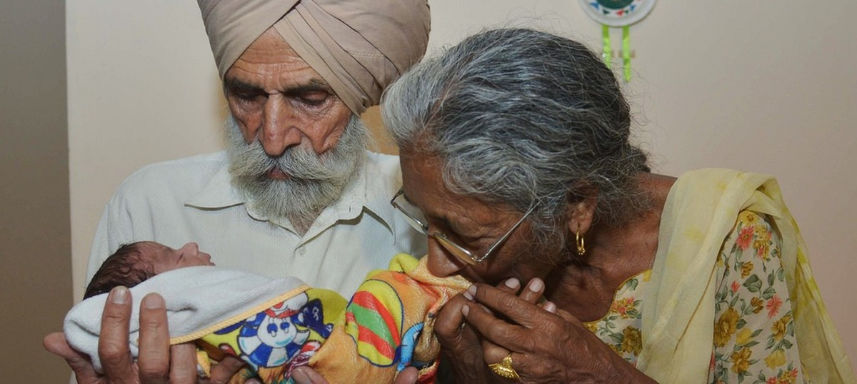 IVF helps 72-year-old Indian woman have her first baby