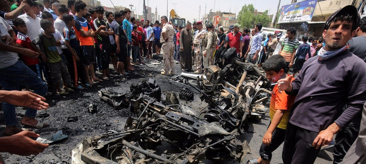 Islamic State triple bombings in Baghdad kill at least 94