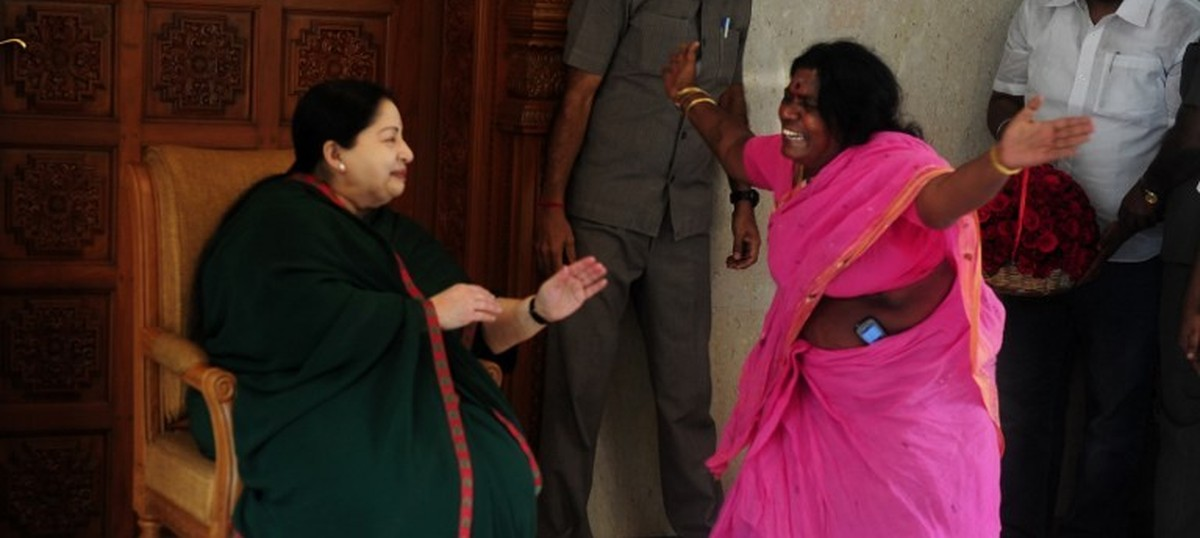 Everywhere yet nowhere, seen but seldom heard: How Amma holds sway in Tamil Nadu