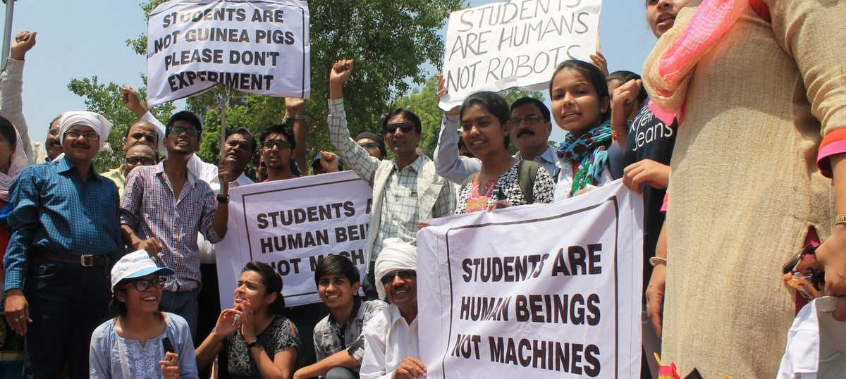 'It is surprising that NEET scares politicians and parents more than students'