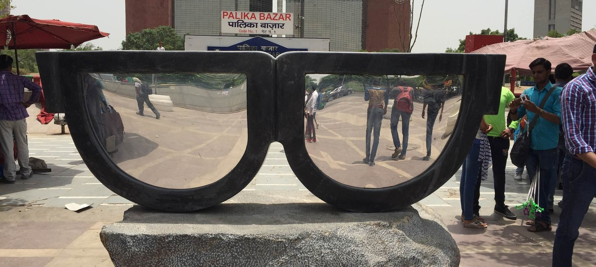 'How is this art?': New stone sculptures in public spaces leave Delhi befuddled