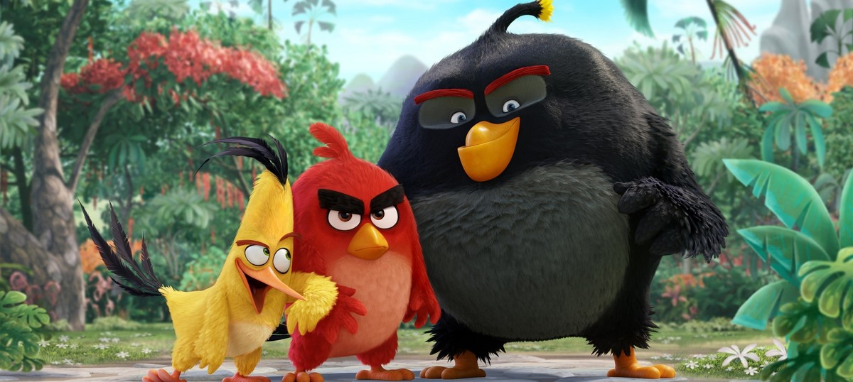 Film review: 'The Angry Birds Movie' is for the fledglings