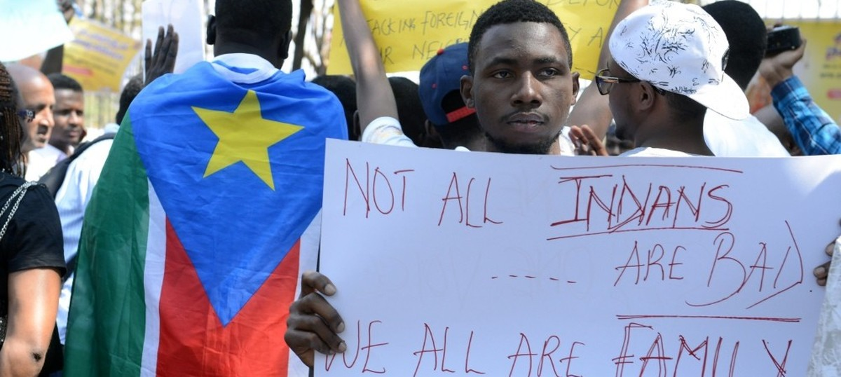 Death of Congolese student in Delhi not a racial attack, says Sushma Swaraj