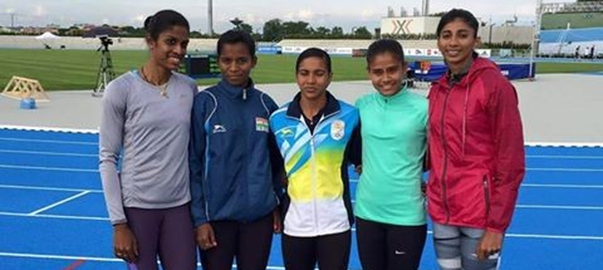Indian women's relay team in hunt for qualification for Rio Olympics