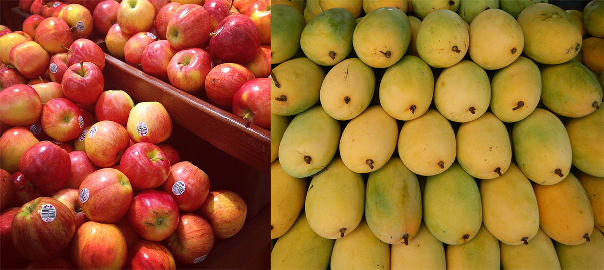 The grotesquely sweet mango isn't the King of Fruits (the apple is the real deal)