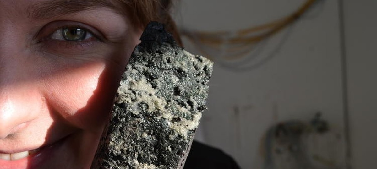 Scientists have successfully transformed carbon dioxide into stone, finding could help store the gas