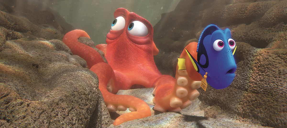 Film review: 'Finding Dory' is lovely to look at, but could we have silent fish the next time?