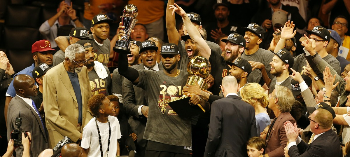 Cleveland Cavaliers defeat Golden State Warriors in Game 7 to win NBA Finals 4-3