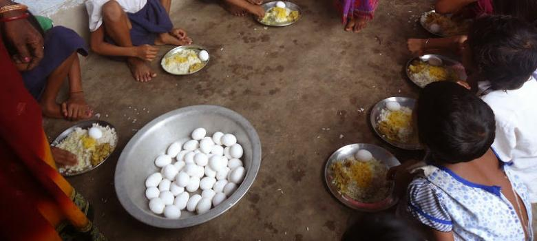 54 children admitted to hospital after eating midday meal at Bihar government school