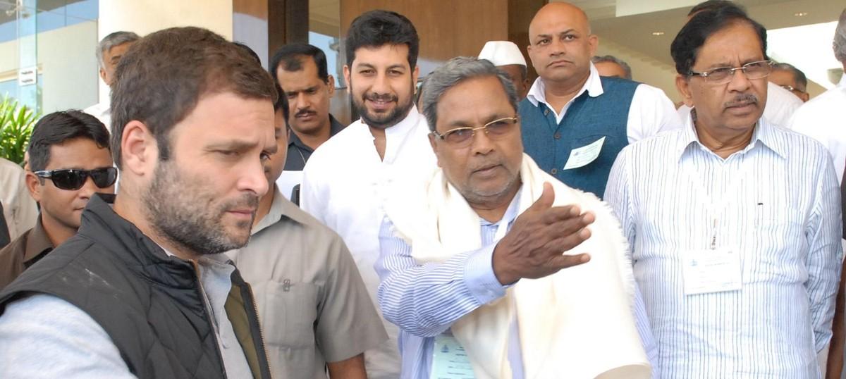 As the Congress faces a mutiny in Karnataka, Rahul Gandhi has chosen to take a break
