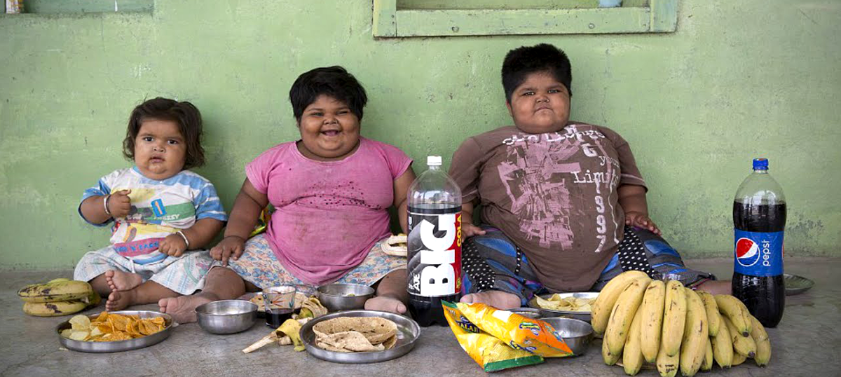 Extra kilos among rural poor weighing India down