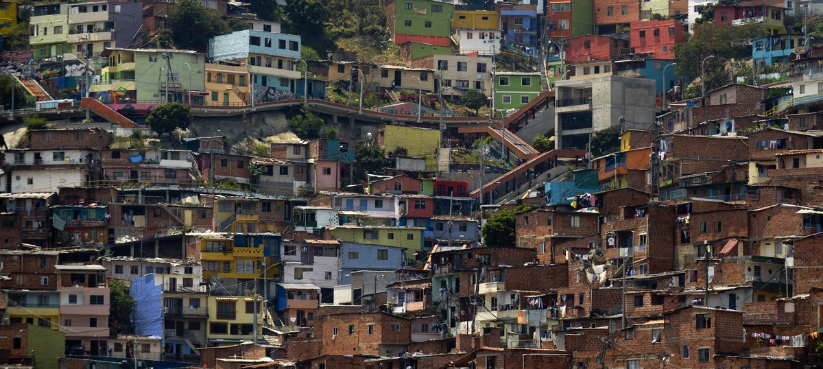 Researchers in Colombia are trying to reimagine slums to foster equality