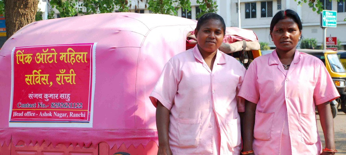 Pink autos or salmon orange, Mumbai unions could learn some lessons from Ranchi's female drivers