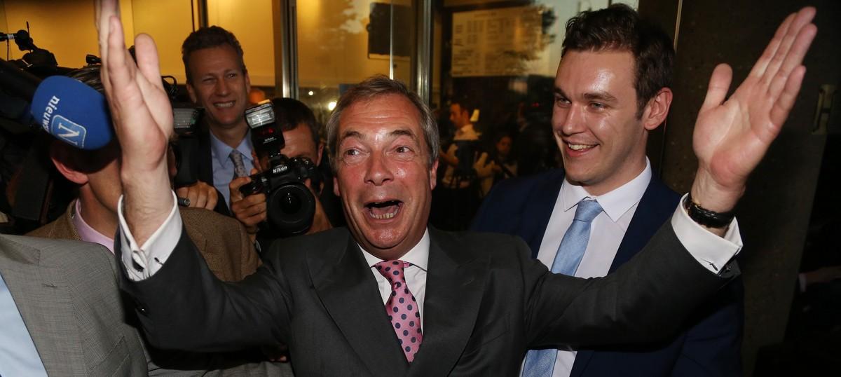 Nigel Farage quits as leader of pro-Brexit UKIP