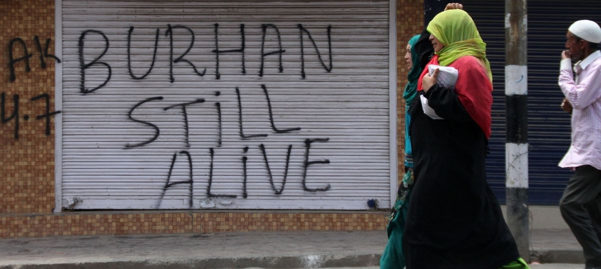 The rise of Burhan and the aftermath of his death show why the status quo in Kashmir is unacceptable