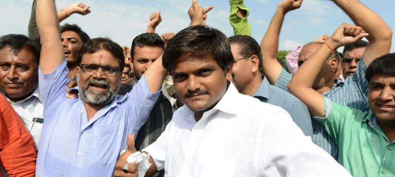 Patidar agitation leader Hardik Patel released from Surat jail after nine months