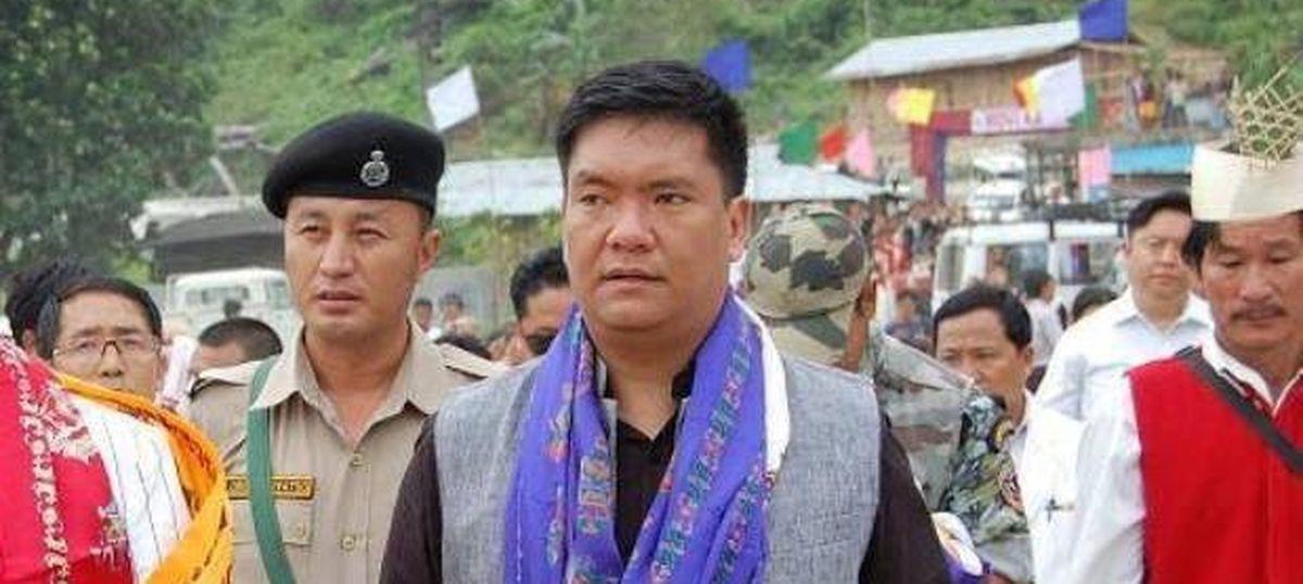 Pema Khandu sworn in as new chief minister of Arunachal Pradesh