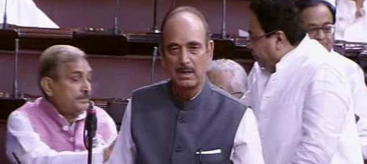 At Monsoon Session, Congress decries 'disproportionate use of force' in Kashmir