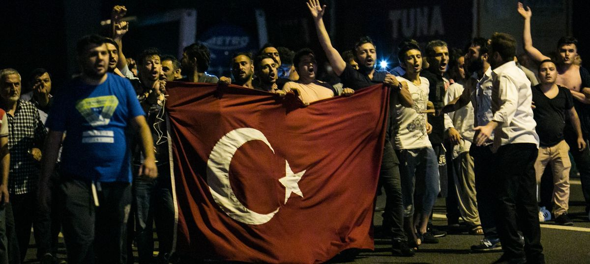 Erdogan is notoriously authoritarian. So why did Turks react so strongly to the coup?