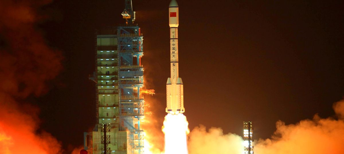 Could a Chinese space station crash to Earth, as amateur astronomers fear?