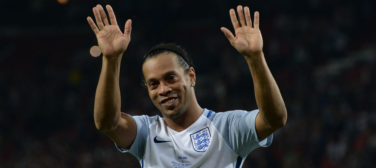 Ronaldinho leaves Premier Futsal midway after being appointed ambassador of 2016 Paralympics
