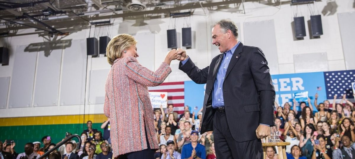 US elections: Tim Kaine accepts Democratic vice-presidential nomination