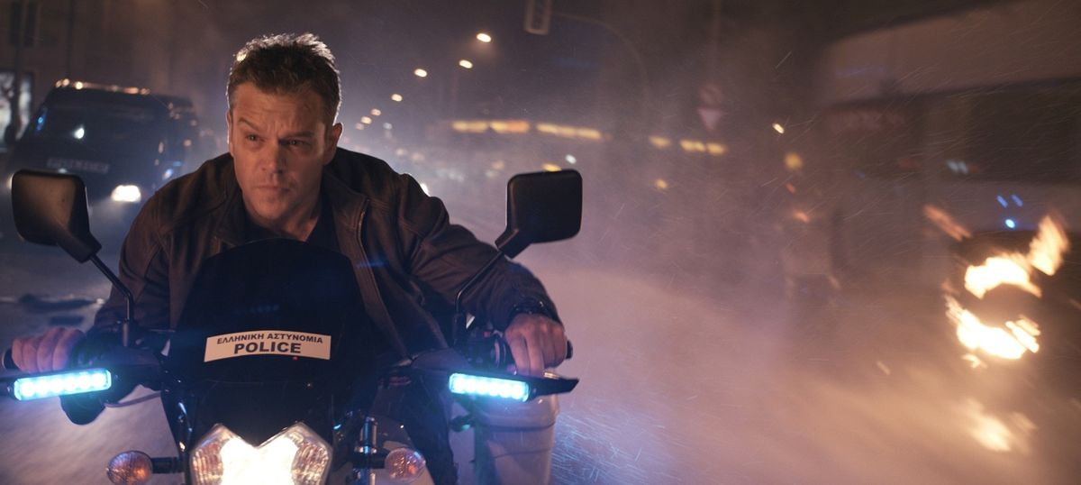 Film review: In 'Jason Bourne', the battle is between the eye in the sky and the feet on the ground