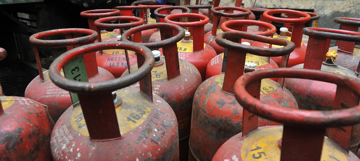 Subsidised LPG price hiked by Rs 1.93 per cylinder