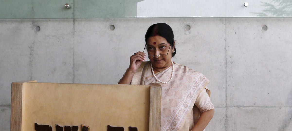 The 10,000 Indian workers stranded in Saudi Arabia will be evacuated soon, says Sushma Swaraj