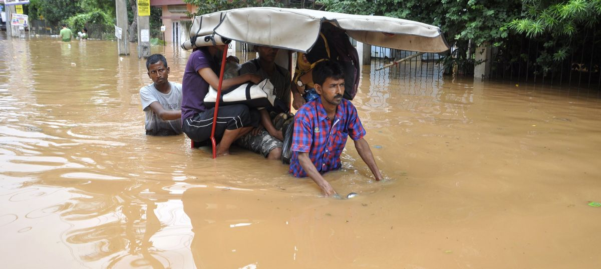Flood-control methods deployed in Assam have actually worsened the problem
