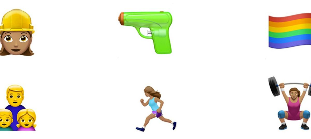 Apple introduces new 'gender diverse' emojis for iOS 10, replaces gun with water pistol