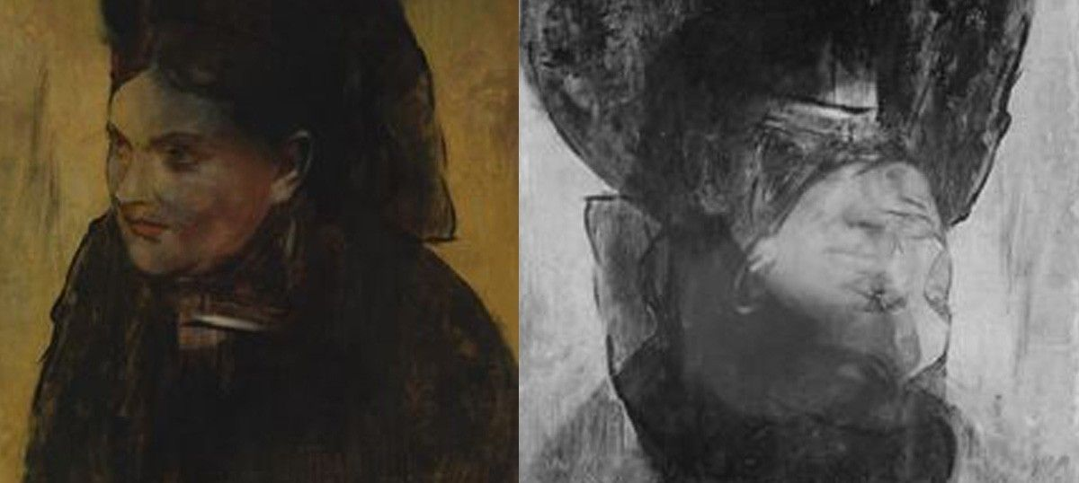 How we used a particle accelerator to find the hidden face in Degas's Portrait of a Woman