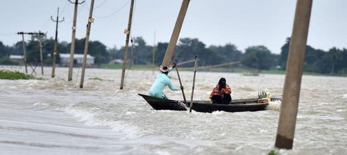 Assam CM Sarbananda Sonowal asks Narendra Modi to declare state floods a national problem: TOI