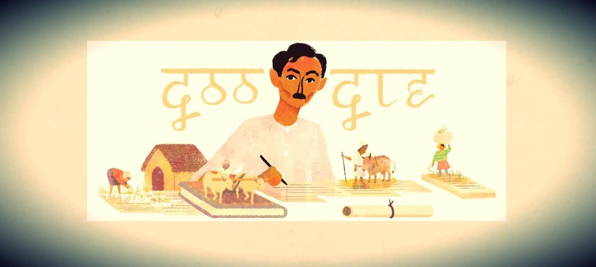 Google was right to remember Premchand (with a doodle) and so should we