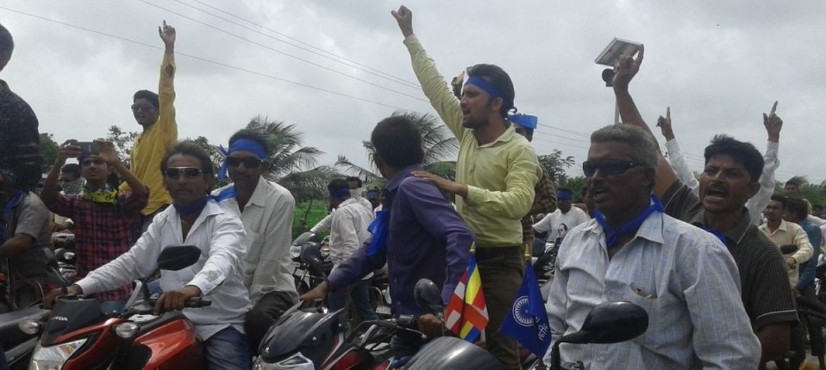 Dalit march in Gujarat faces backlash as it enters the last stretch