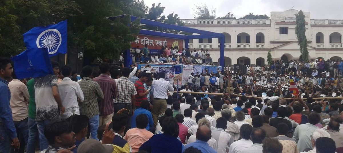 Una march: Dalit protestors give Centre 30 days to fulfil their demands