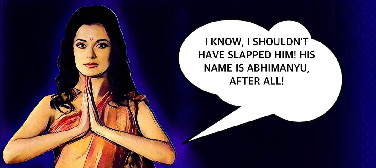What happened when Draupadi visited New Delhi with her girlfriends