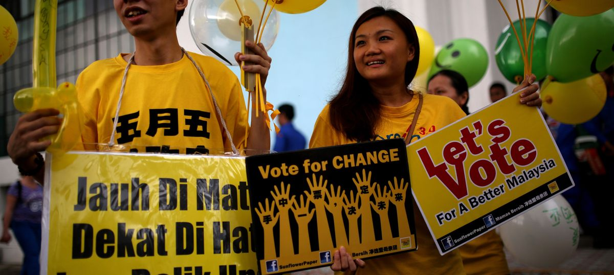 Malaysia's Bersih movement shows social media can mobilise the masses