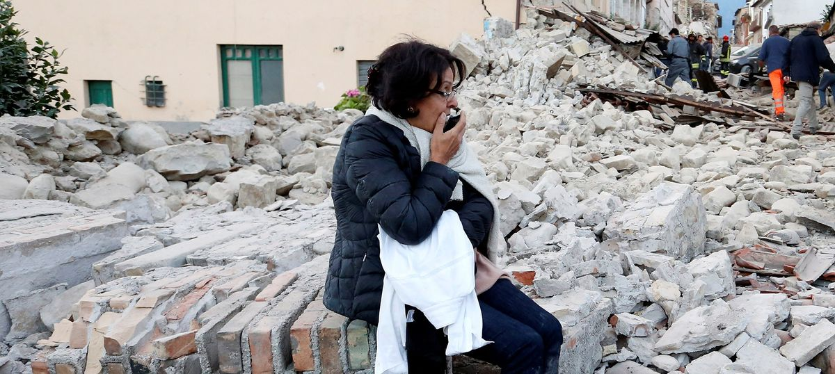At least 73 dead as quake measuring 6.2 on Richter scale hits Italy