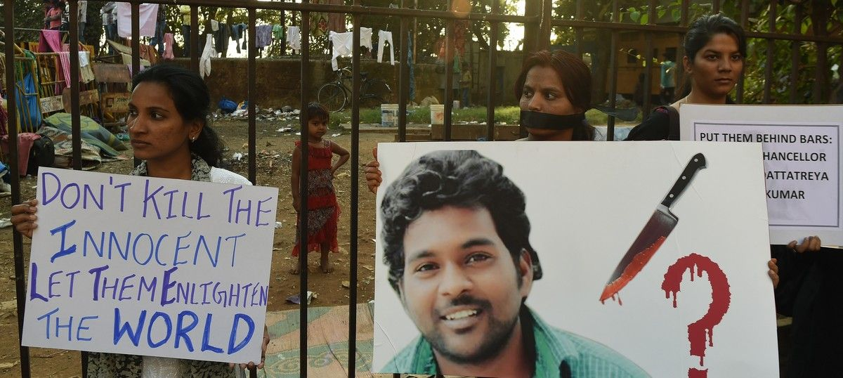 By questioning Rohith Vemula's Dalit identity, judicial panel puts BJP in a spot of bother again