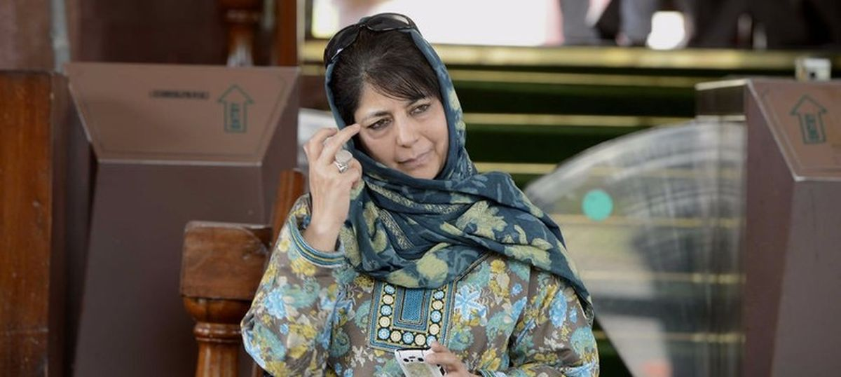 A handful of people inciting violence in Kashmir, cannot be compared to 2010 unrest: Mehbooba Mufti