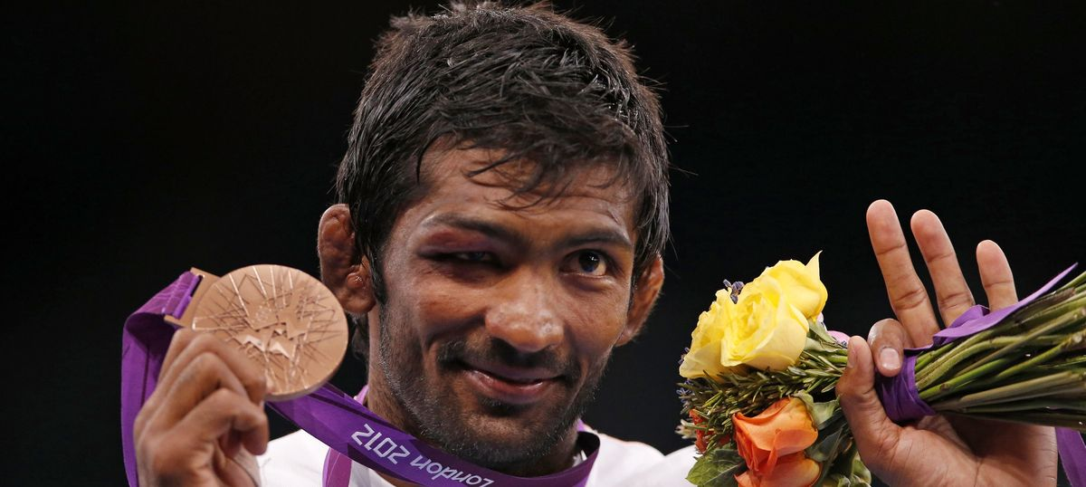 Wrestler Yogeshwar Dutt wants Besik Kudukhov's family to keep his London Olympics silver medal