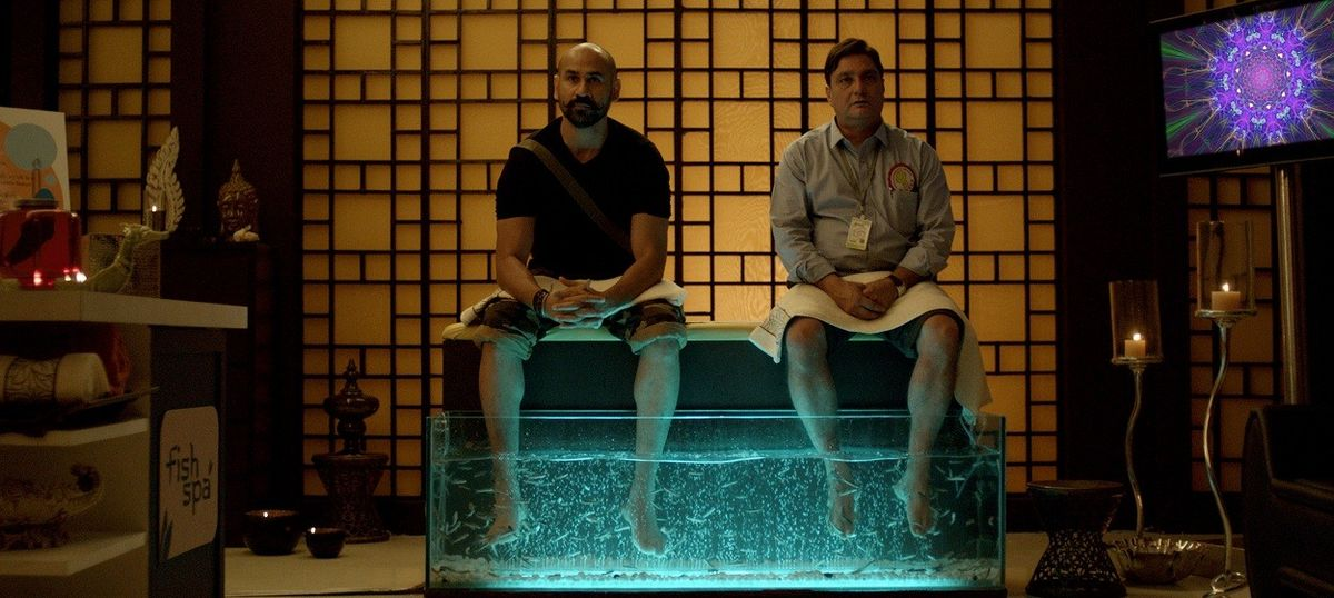 Film review: 'Island City' is a mildly absurdist fable of present and future Mumbai