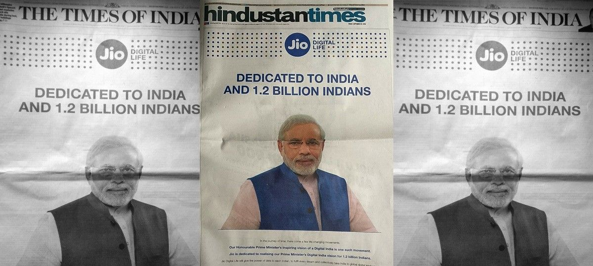 'Is this even legal?': Why is Narendra Modi in a Reliance Jio ad, ask Twitter users